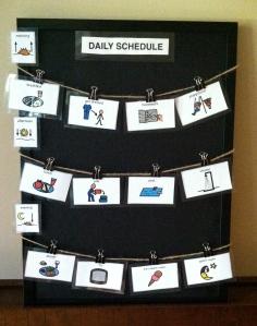 Summer Schedule Collage
