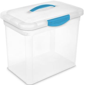 Sterilite Large Showoff Storage Container