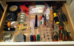 Organized Junk Drawer